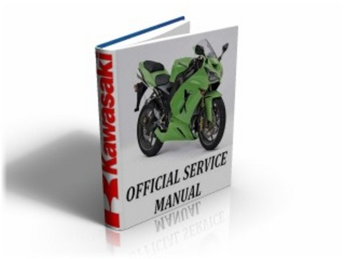 Kawasaki Ninja ZX10R (ZX 10 R ) 2004 Service Manual & Repair Guide Download