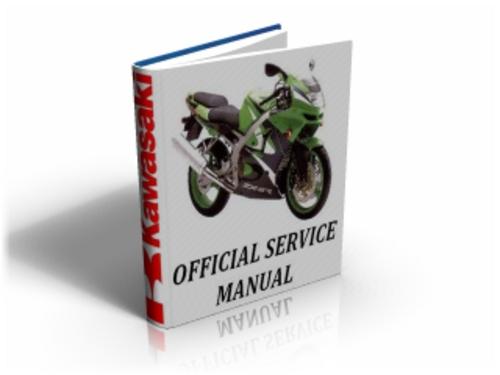 Kawasaki Ninja ZX-6R (ZX 6 R,ZX-600) 1998-1999 Service Manual & Repair Guide Download