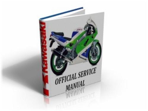 kawasaki zxr400 zxr 400 zx400 1991 2000 service manual repair g rh tradebit com ZZR 400 Zx10r