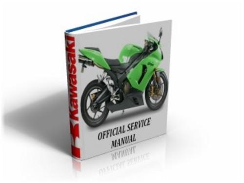 Kawasaki Ninja Zx6r Zx 6 R 2005 2006 Motorcycle Service Manual
