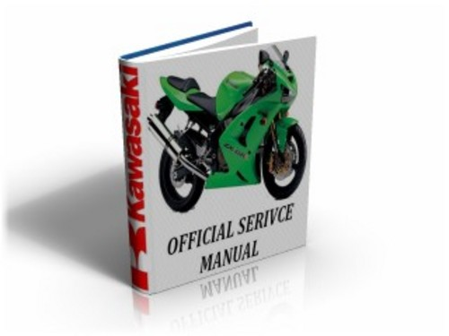 for Kawasaki Ninja ZX6RR (ZX 6 RR) 2003 2004 Workshop Service Manual ...