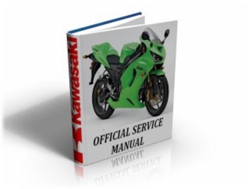 Kawasaki Ninja ZX6RR ( ZX 6 RR) 2005 2006 Workshop Service Manual & Repair Guide Download