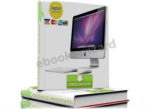 Apple iMac 27 Inch Mid 2010 Service Manual & Repair Guide Download