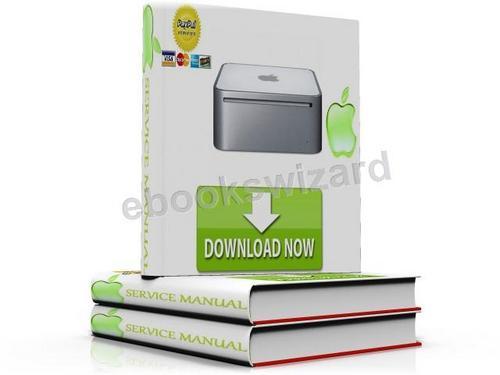 Apple Mac Mini Late 2009 Service Manual & Repair Technician Guide