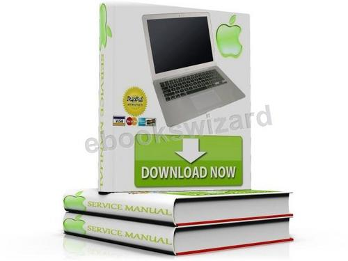 Free Apple MacBook Air Late 2008 Mid 2009 Service Manual & Repair Technician Guide Download Download thumbnail