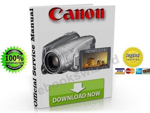 Canon Vixia HV20 / HV20E Service Manual & Repair Guide Download