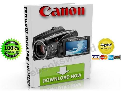 canon vixia hv30 hv30e service manual repair guide download d rh tradebit com Canon HV20 Canon HV20