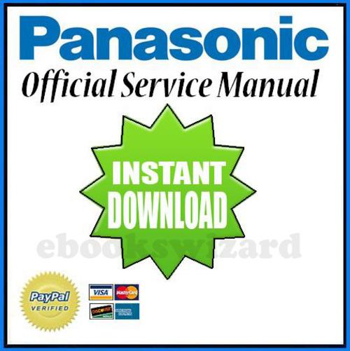 Panasonic HDC-HS900 Series Service Manual & Repair Guide Download