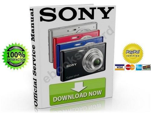 Sony Cyber-Shot DSC-W330 Service & Repair Manual Download