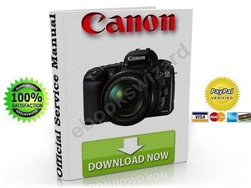 canon eos 20d digital slr camera service repair manual download rh tradebit com Canon 10D Canon EOS 20D Digital