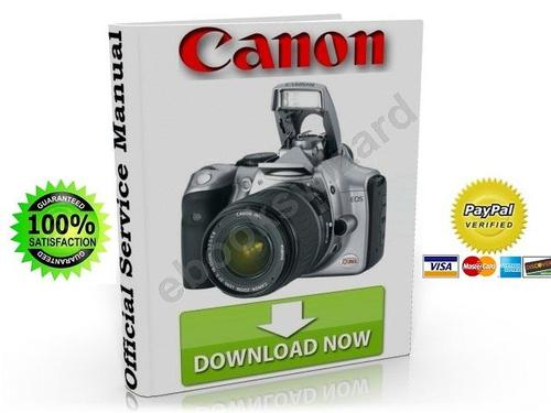 canon eos 300d digital slr service repair manual download manua rh tradebit com Canon EOS 30D Canon EOS 300D Tripods