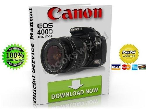 Canon Eos 400d Digital Slr Camera Service Manual Fix Guide Repairmanualspro