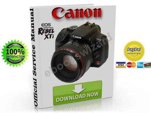Canon EOS Digital Rebel XTI Service Manual & Fix Guide