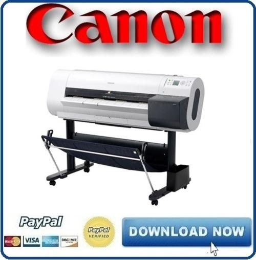 Canon iPF700 Service & Repair Manual + Parts Catalog