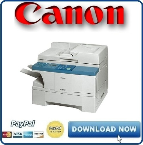 Canon imageRUNNER iR 1200 1300 Service Manual & Repair + Parts Catalog