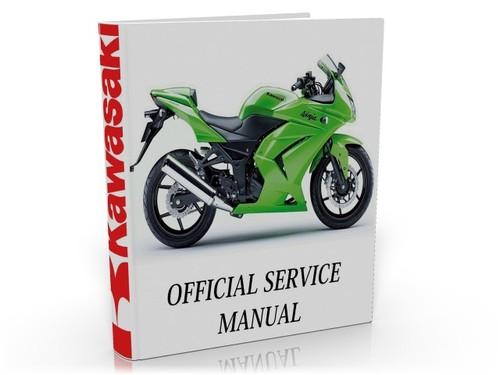 kawasaki ninja 250r ex 250 2008 2009 complete service manual rh tradebit com New Kawasaki Ninja 250 Kawasaki Ninja 650R