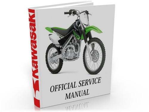 Kawasaki KLX140 KLX140L 2008 2011 Complete Service Manual Repair Guide