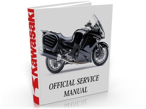 Kawasaki 1400 GTR Concours 2007 2008 Complete Service Manual Repair Guide Download