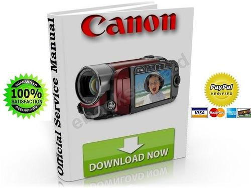 canon legria fs200 fs22 fs21 fs20 service repair manual downloa rh tradebit com canon legria fs200 manuale Canon FS200 Digital Camcorder CD-ROM