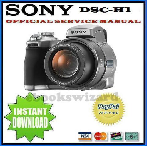 SONY CYBER SHOT DSC-H1 SERVICE MANUAL DOWNLOAD