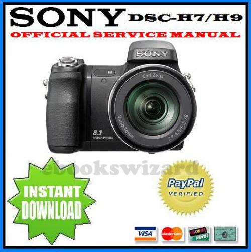 sony cyber shot dsc h7 h9 service repair manual download downlo rh tradebit com sony dsc-h9 service manual sony dsc h9 manual