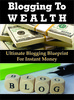 Thumbnail Blogging To Wealth with +150  PLR Blogging Articles