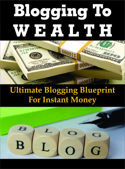 Pay for Blogging To Wealth with +150  PLR Blogging Articles