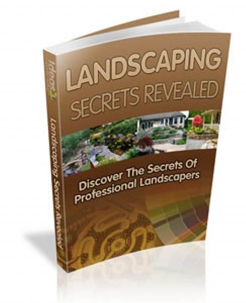 Pay for Ideas for LANDSCAPING eBooks