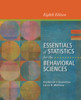 Thumbnail Essentials of Statistics for the Behavioral Sciences 8e