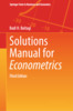 Thumbnail Solutions Manual for Econometrics 3rd Edition Badi Baltagi