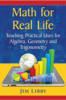 Thumbnail Math for Real Life by Jim Libby
