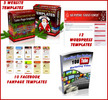 Thumbnail Christmas Templates super Package