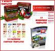 Thumbnail Christmas Templates super Package
