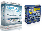 Thumbnail 25 Squeeze Pages and  Squeze Page Maker