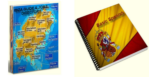 Pay for Guide To Working In Ibiza and basic Spanish ebooks