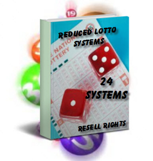 Pay for Reduced Lotto Systems