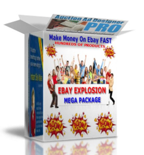 Pay for EBAY EXPLOSION MEGA PACKAGE+ TEMPLATES