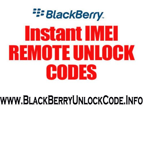 Pay for USA AT&T Blackberry Thunder Unlocking Code