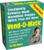 Thumbnail VEND-O-MATIC Automatic Web Page Builder