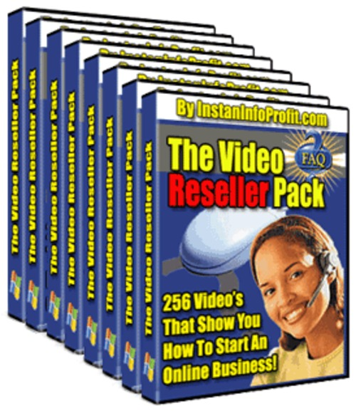 Pay for Video Reseller Pack