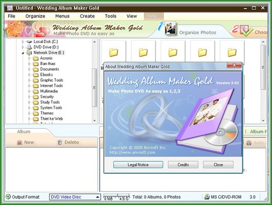 Pay for Portable Wedding Album Maker Gold 3.04