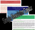 Thumbnail Simple Newsletter Creator