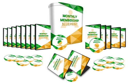 Pay for Monthly Membership Blueprint Upgrade  8 Videos Set