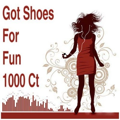 Pay for Got Shoes For Fun 1000 Ct