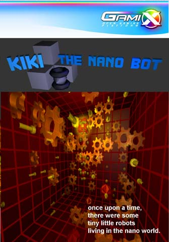 Pay for Gamix Kiki The Nano Bot (NTSC) ISO