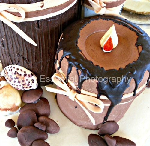 Pay for Unique chocolate candle cake