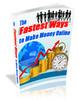 Thumbnail Fastest ways to make money online