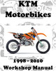 Thumbnail KTM MOTORBIKE ALL MODELS WORKSHOP REPAIR SERVICE MANUAL