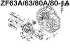 Thumbnail ZF 63 63A 80A 80-1A 85A SERVICE REPAIR & PARTS MANUAL