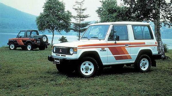 Mitsubishi Pajero Montero Shogun 1982